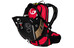 Ergon BE3 Enduro Rucksack 10 L black/red